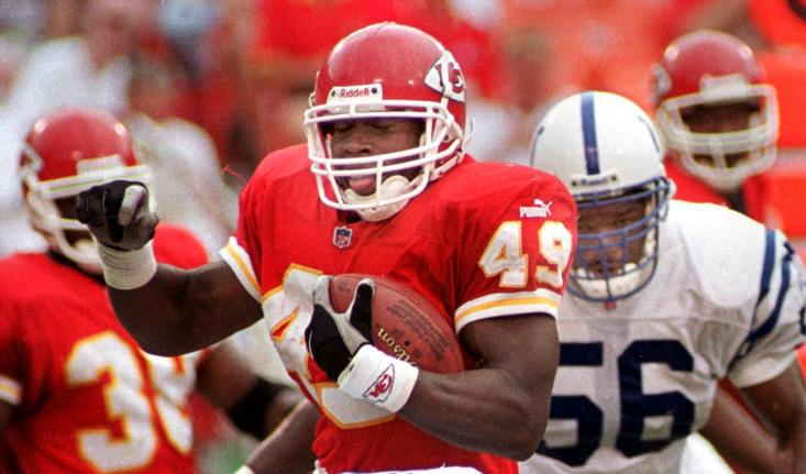 Tony Richardson 2016 Inductee in Chiefs Hall of Fame
