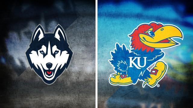 Connecticut Huskies vs Kansas Jayhawks