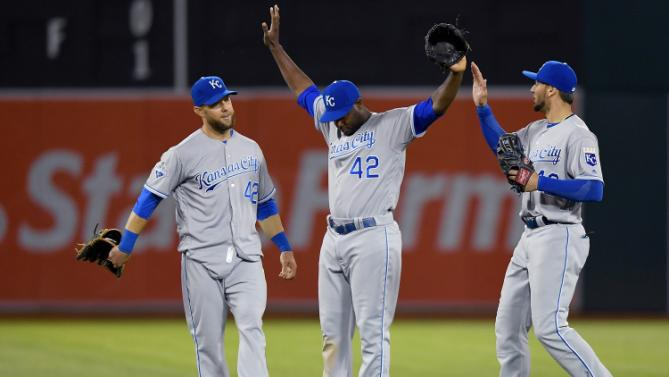 Royals @ A's game 2 preview