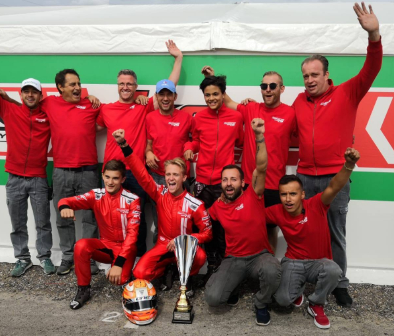 SUCCESSFUL DEBUT FOR THE RS KART WITH NIELSEN AND THE SCHUMACHER RACING TEAM ON THE PODIUM AT THE DKM FINAL