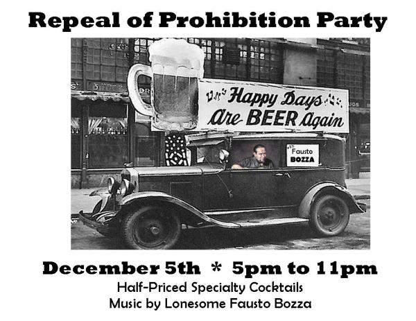 Repeal of Prohibition Party