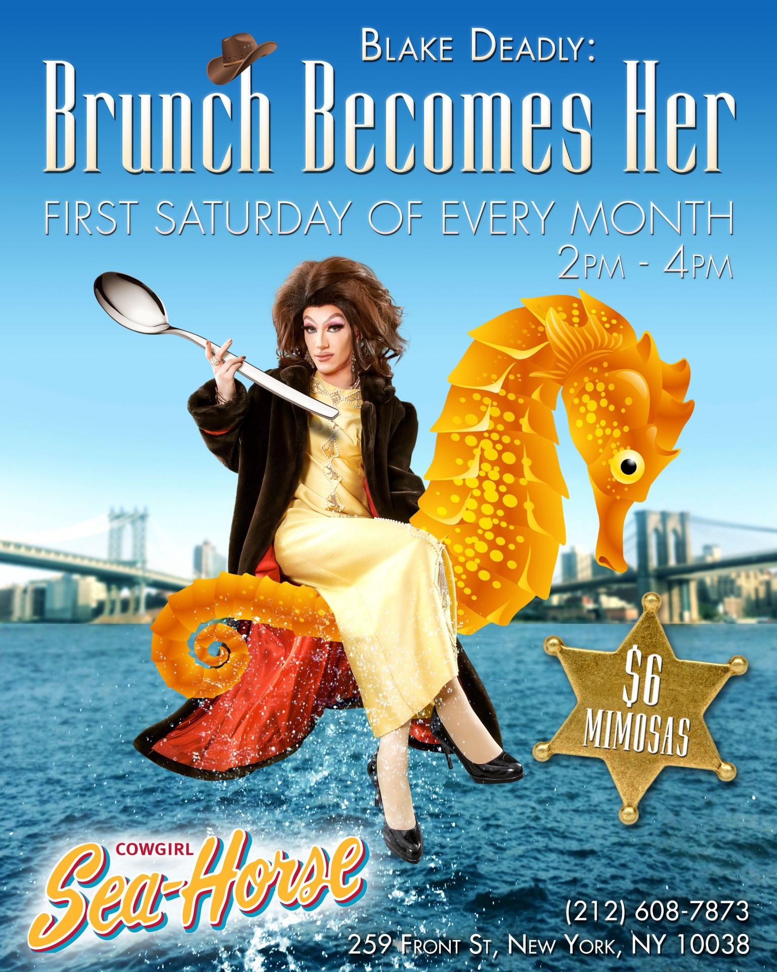 FiDi's First & Only Drag Brunch