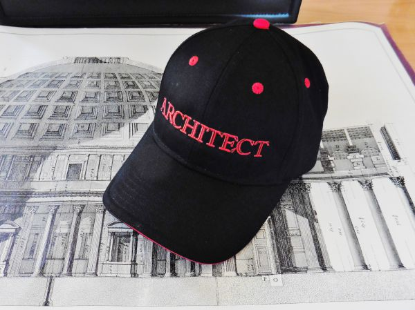 Cap Black and Red