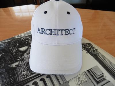 Architect Cap White & Black
