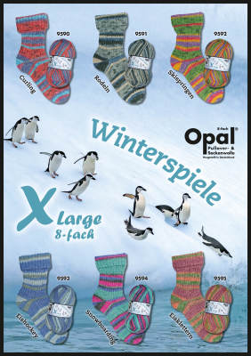 XL 8ply Winter Games  NEW