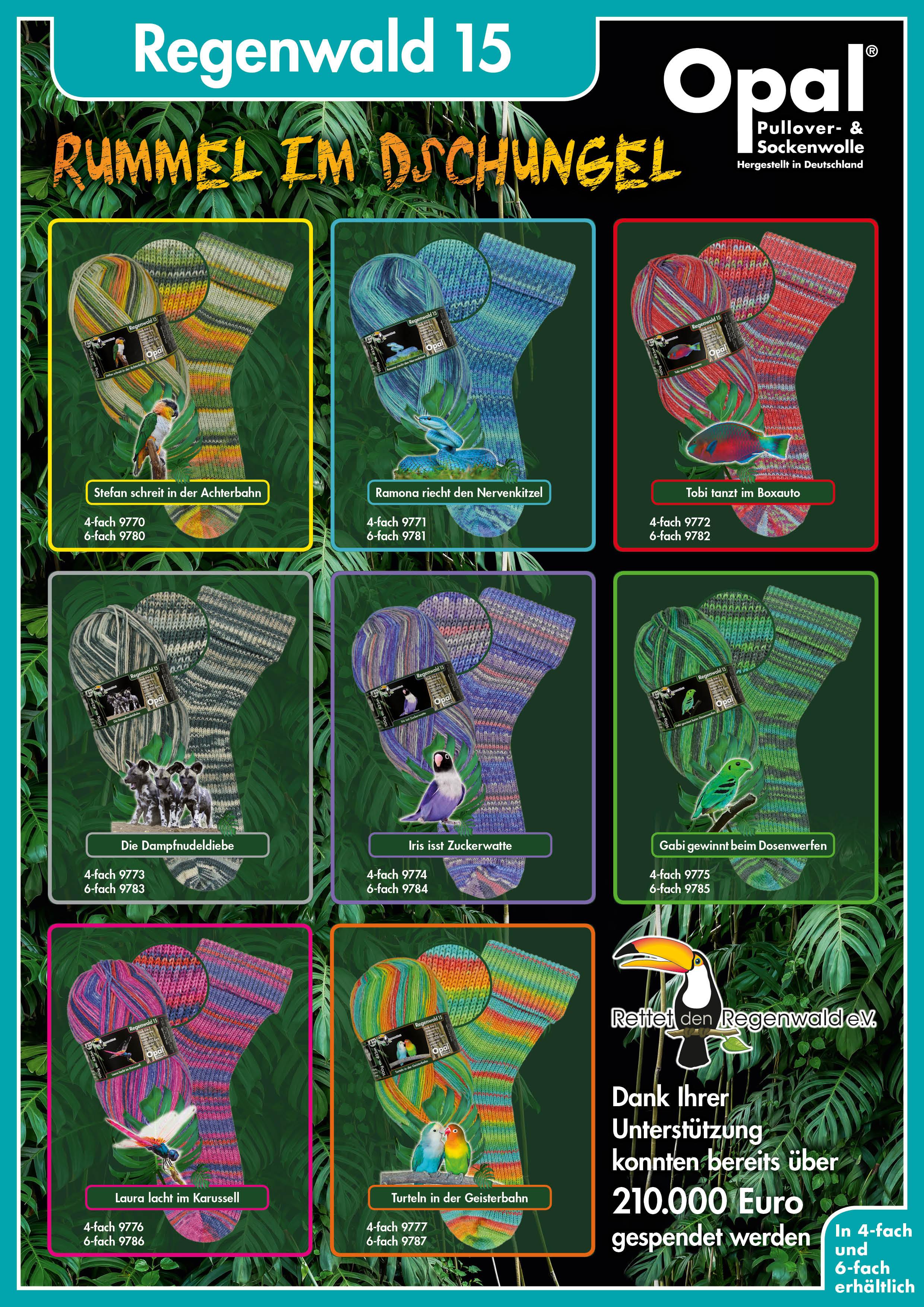 Rainforest 15  NEW