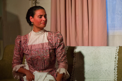 Melbourne Actor Rebecca Bastiaensz in Henrik Ibsen Theatre performance