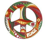 psychedelic, kombi, peace, love, hippie, hippy, 60s, 70s, vintage,