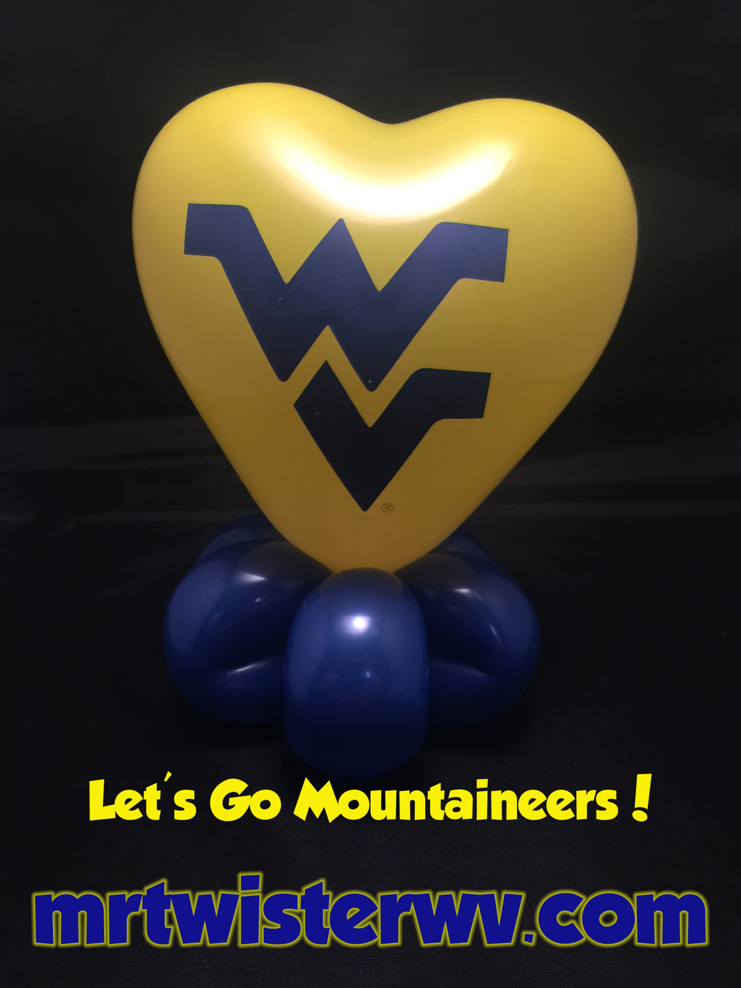 Flying WV Balloons
