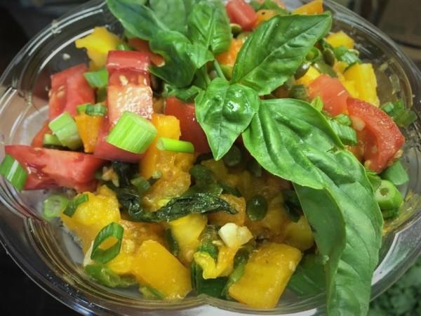 Quinoa Salad with Fire Roasted Tomato Jam