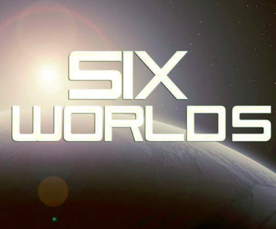 The cover for Six Worlds