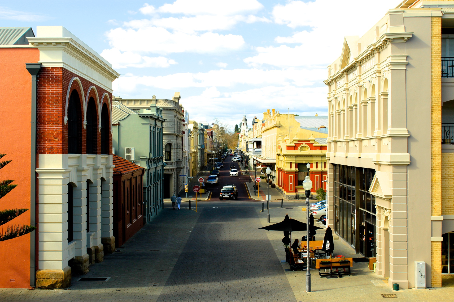 Fremantle From a Little High