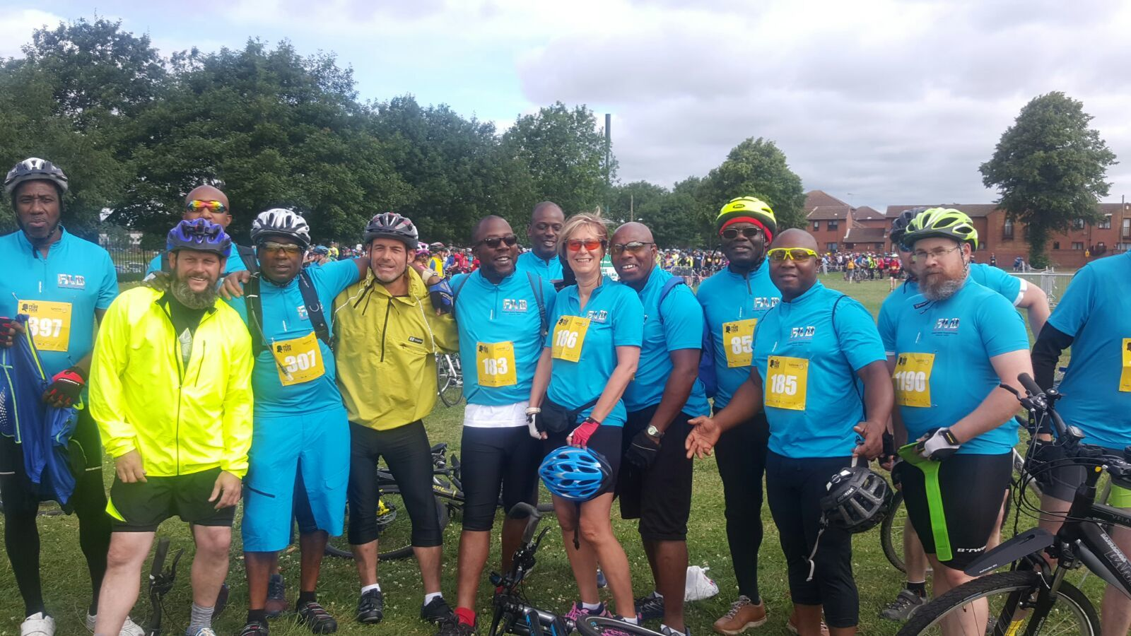 FAB Riders at Great Notts Bike Ride 24 June 2018