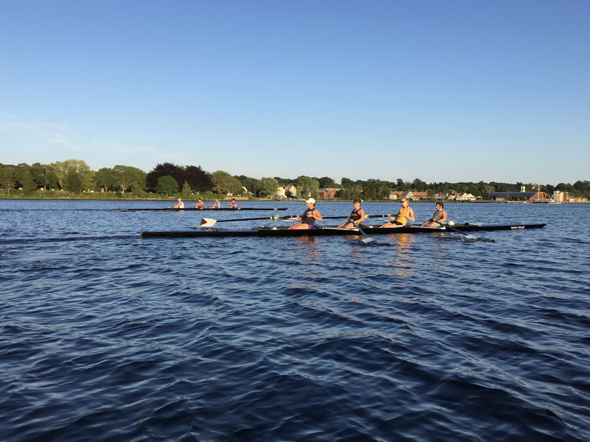 Summer Rowing is Perfect Prep for Fall Racing