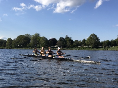 There's Something Special about Rowing in Summer!