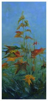 "Bruce Fortney ""Fall Oak Sapling"" Mineral Point"