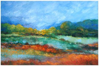 Bruce Fortney Mineral Point Landscape