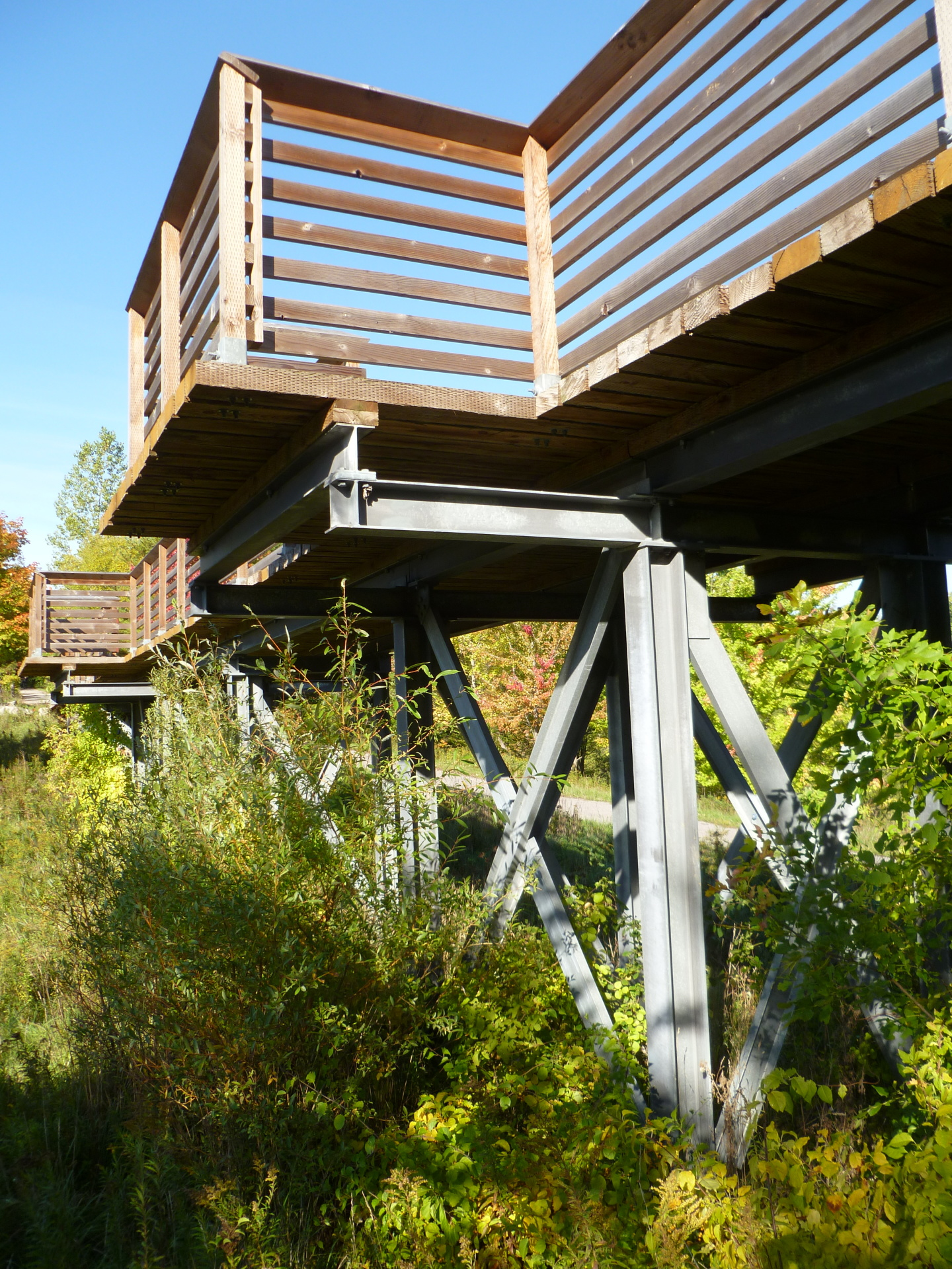 bridge, rail-trail, trestle bridge