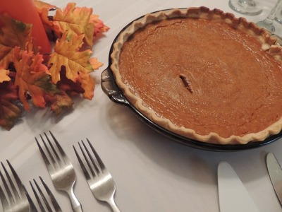Thanksgiving Pumpkin Pie with Extra Spice