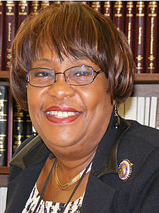 Soon to be State Senator Barbara Robinson