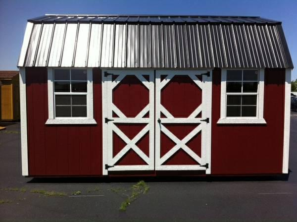 storage barn, garden shed, utility shed, lawn mower barn, feed barn, chicken coop