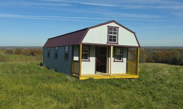 Custom Hunting lodge, hunting cabin, tiny house ready built fishing cabin second home emergency shelter veteran housing