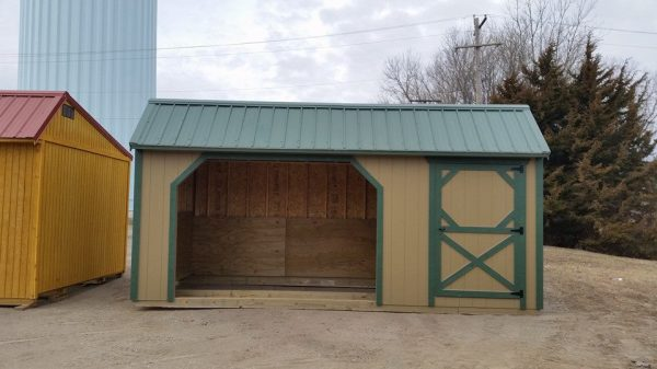 horse shed, horse barn, cattle barn, goat shed, farm shed, farm barn