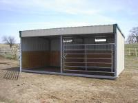 the best portable all metal livestock horse, cattle, cow, dairy, 4-H buildings in Kansas, Missouri and Nebraska and Iowa