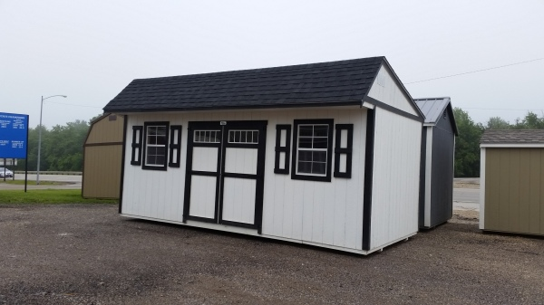 backyard buildings, Amish built quality storage shed