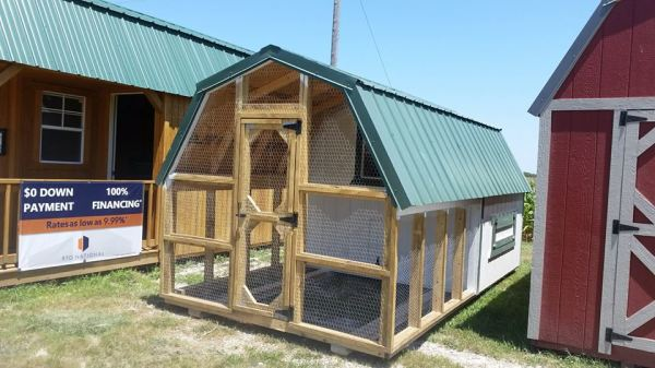 Poultry House, chicken house, chicken condo, duck barn, guinea barn coop