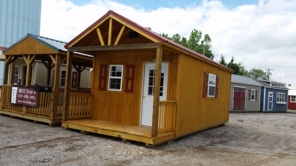 12x24 Swiss Cabin! $6,060