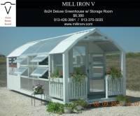 Big Greenhouse! Utility or storage room attached, self sufficent, organic gardening in kansas city topeka st. joe missiouri nebraska lincoln omaha