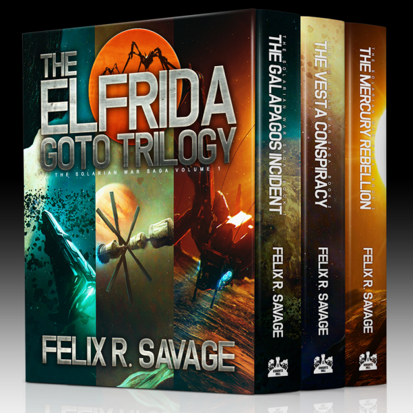 The Elfrida Goto Trilogy - Box Art
