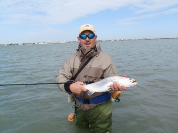 Texans Outdoors, speckled trout fishing, wadefishing, Texans, Outdoors, Texans Outdoors, Texas