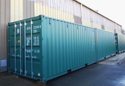Storage unit, 20 ft, left facing