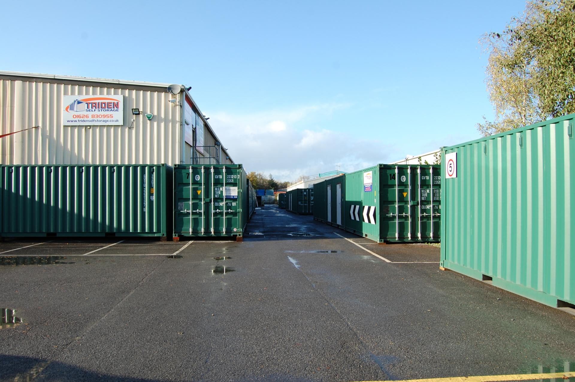 Triden self storage store front