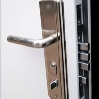 Door handle and lock