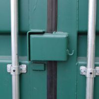 Lock box on unit