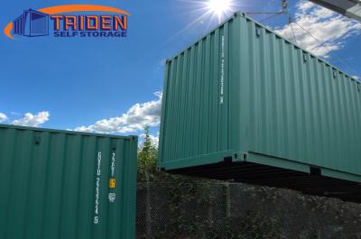 Sun shining for Triden Self Storage in Devon