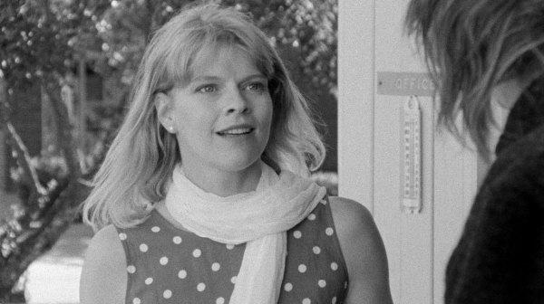 Pauline is surprised to see Joe again.