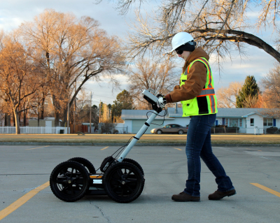 GPR Ground Penetrating Radar Utility Detection