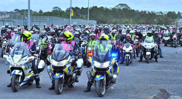 Pink Ribbon Ride PRR Auckland 2017