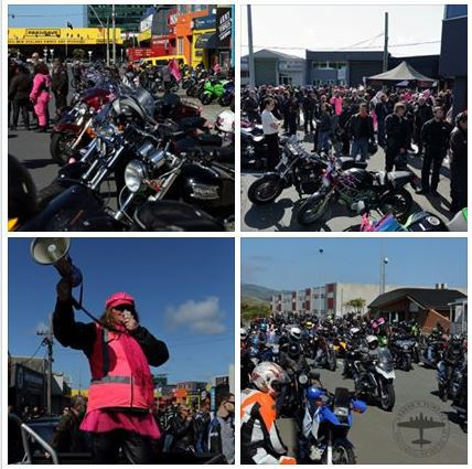 Pink Ribbon Ride Wellington 2017