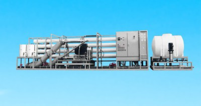 132,000 ~ GPD (500 M³/day) Seawater RO Plant with Energy Recovery Turbine