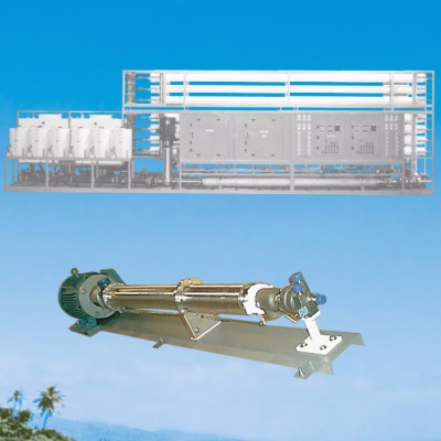 446,400 ~ GPD (1690 M³/day) Seawater RO Plant with Energy Recovery Turbine