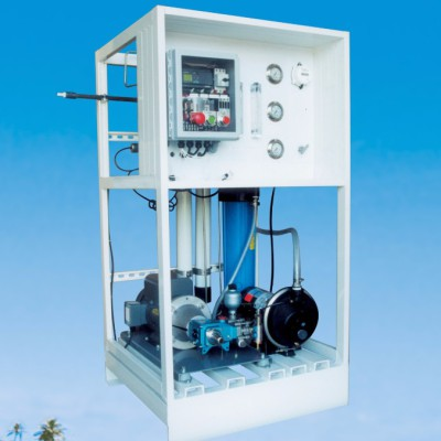 500 ~ 1,500 GPD Seawater Desalination System