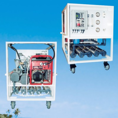 10,000 GPD Mobile Brackish Water Desalination System