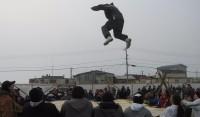 Nalukataq festival blanket toss