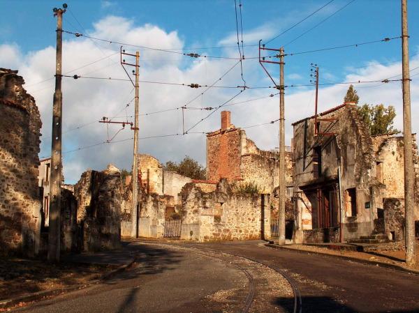 Oradour-Sur-Glane old town