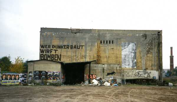 Gruselkabinett bunker outside view